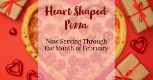 heart Shaped Pizza Special